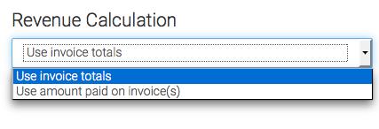 choose the revenue calculation method