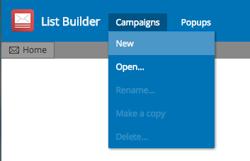 "Here, you'll need to click ""Campaigns and New"" to add a campaign. It's important for you to know that you can edit an existing campaign if you want to."