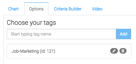 """Now navigate to the """"Options"""" tab, then select the tags you wish to measure."""