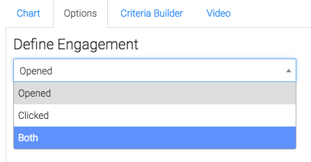 Engagement Definition Options displayed.