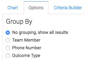 No grouping selected.