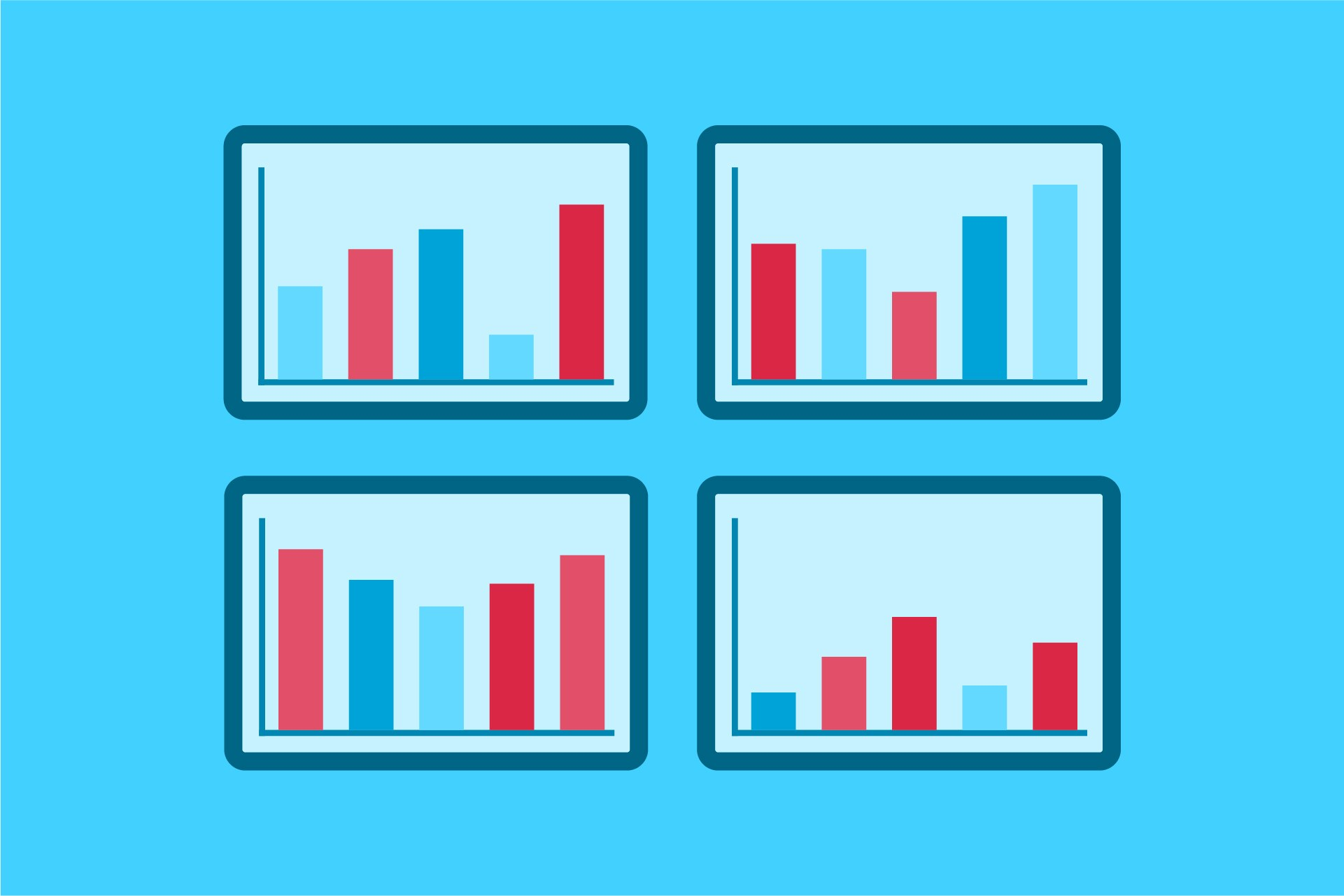 four attribution reports