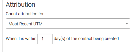 Under the Attribution section, select how you want credit, or attribution, to be given to each source.