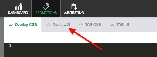 click the overlayJS tab