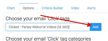 click the add button