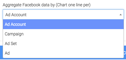 choose which value to aggregate the data by