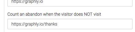 Second URL entered.