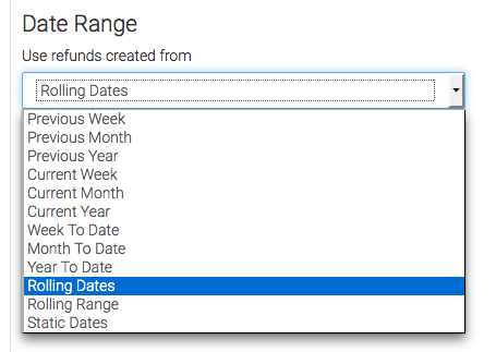 """Now go to the """"Options"""" tab. All you have to do here is set the date range you want to track data from."""