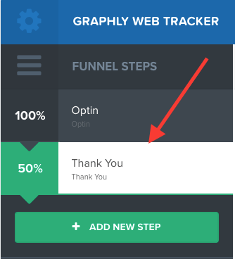 """You'll see the """"Thank You"""" once you complete the steps"""