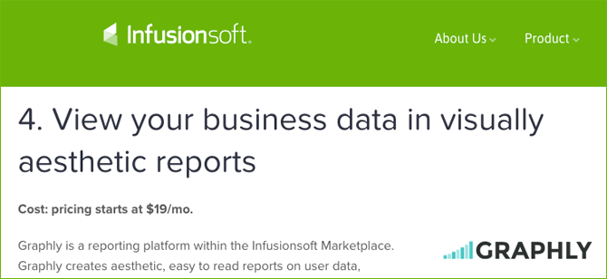 Infusionsoft Recommends CRM Tools
