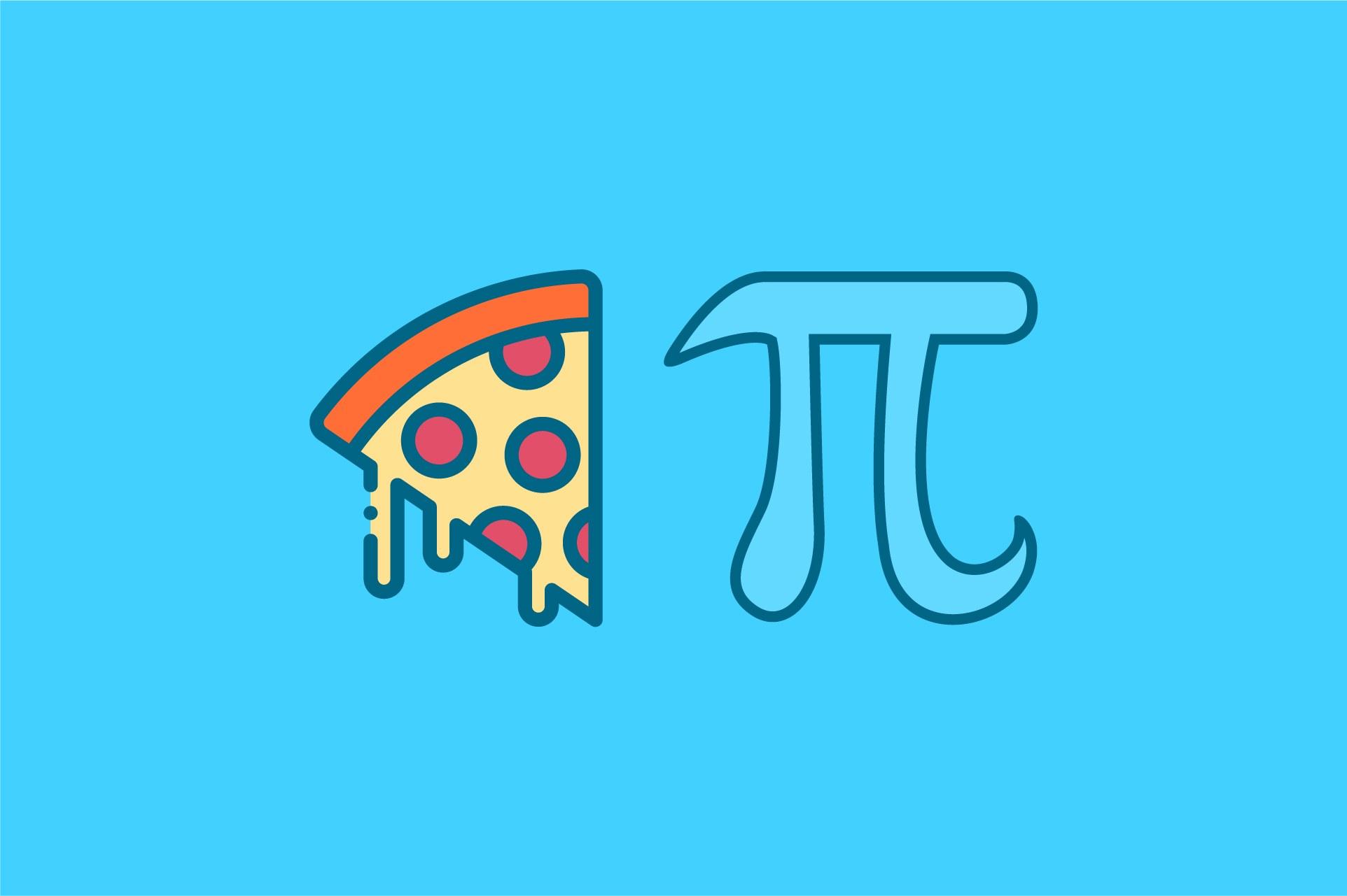 pizza pi symbol