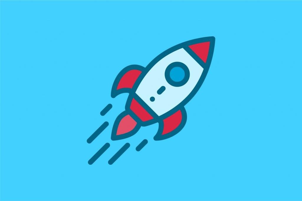 product launch rocket