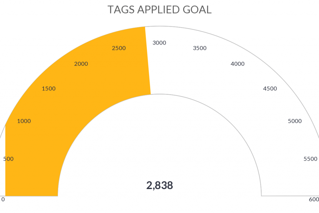 Use the tags applied goal report to help measure how effective your marketing is.